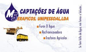 Captações de Águas Serapicos Unipessoal,Lda.  :: Furos e Captação de Águas