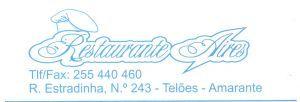 RESTAURANTE AIRES :: Restaurantes